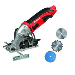 Einhell Mini-Handkreissäge Test 450 W TC-CS 860 Kit